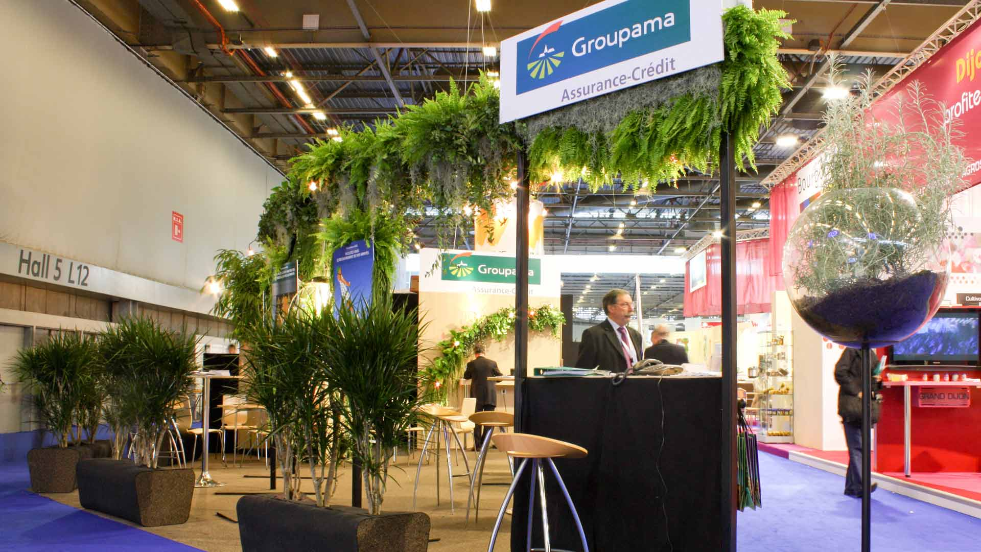 Stand groupama Alexis Tricoire