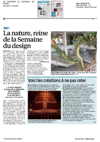 2015-09@LE PARISIEN LE JOURNAL DE PARIS