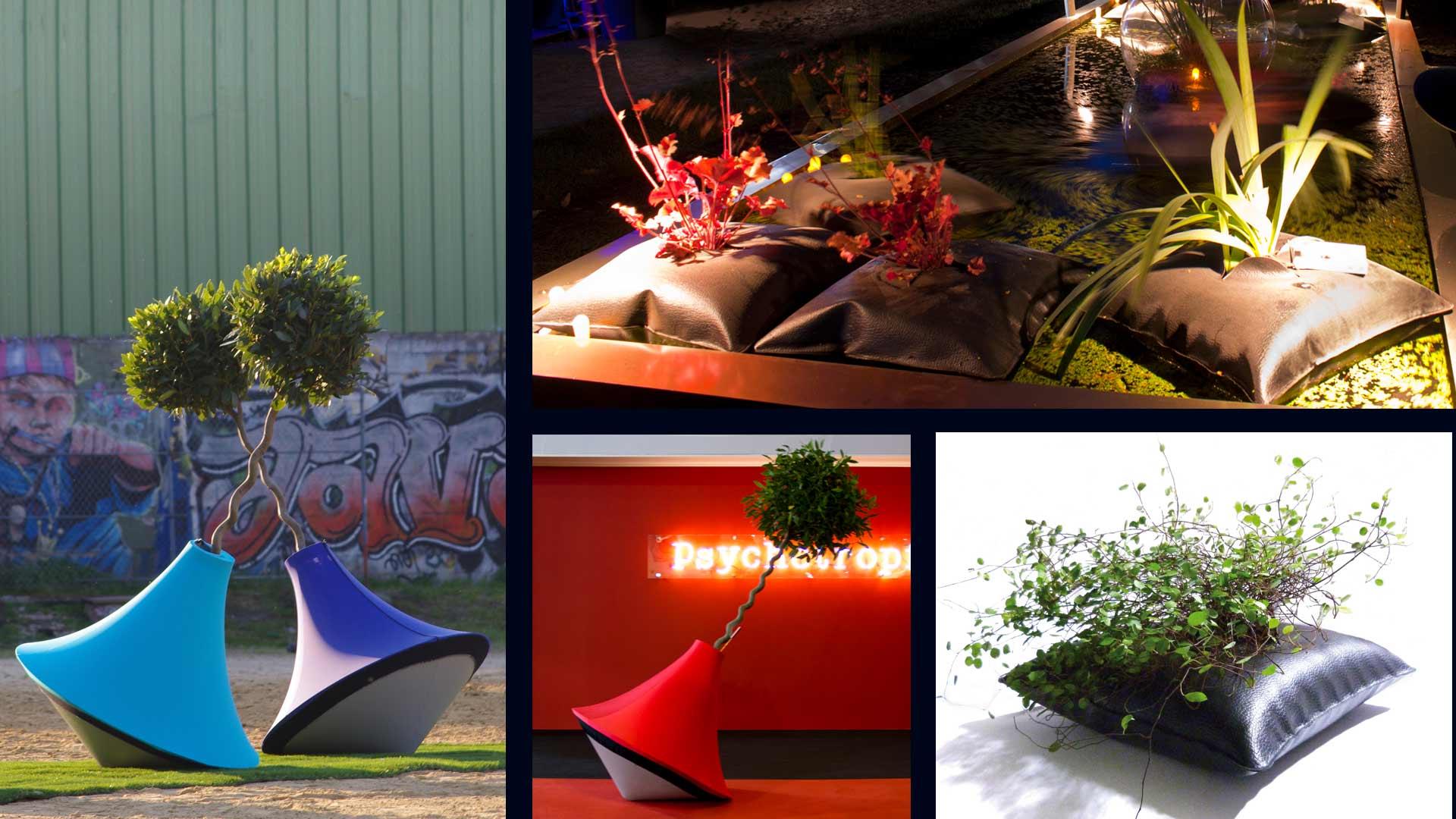Design jardiniere Alexis tricoire