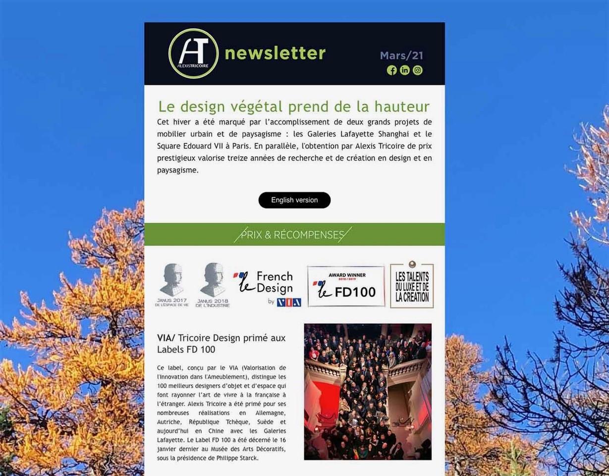Tricoire Newsletter Hiver 2019